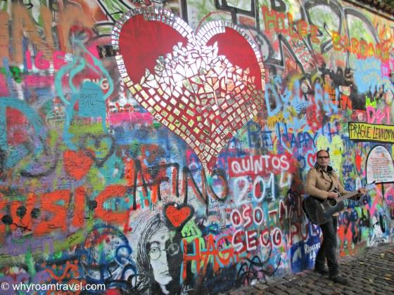 The John Lennon Wall in Prague   whyroamtravel.com