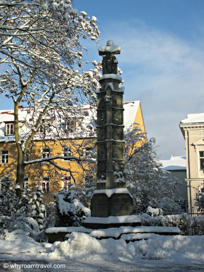 Snow in Regensburg Germany | whyroamtravel.com