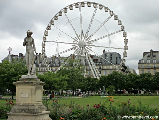 Jardin des Tuileries | WhyRoamTravel.com