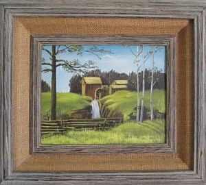 Original Art Grist Mill