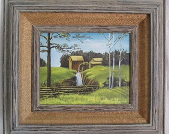 "Oil Painting ""Grist Mill"""