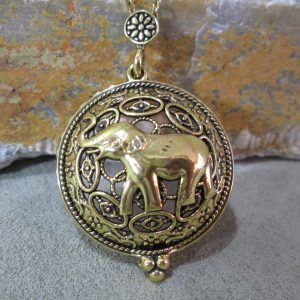 Elephant Loupe Necklace