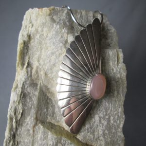 Sterling Silver Sea Shell Pendant
