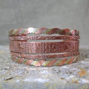 Mixed Metal Zodiac Cuff
