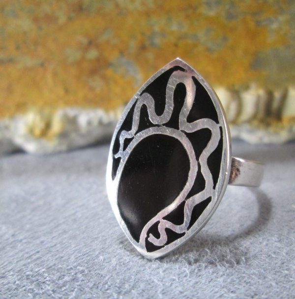 Abstract Asymmetrical Ring