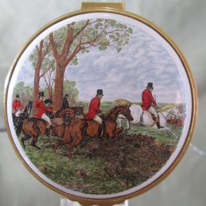kingsley enamel english fox hunt