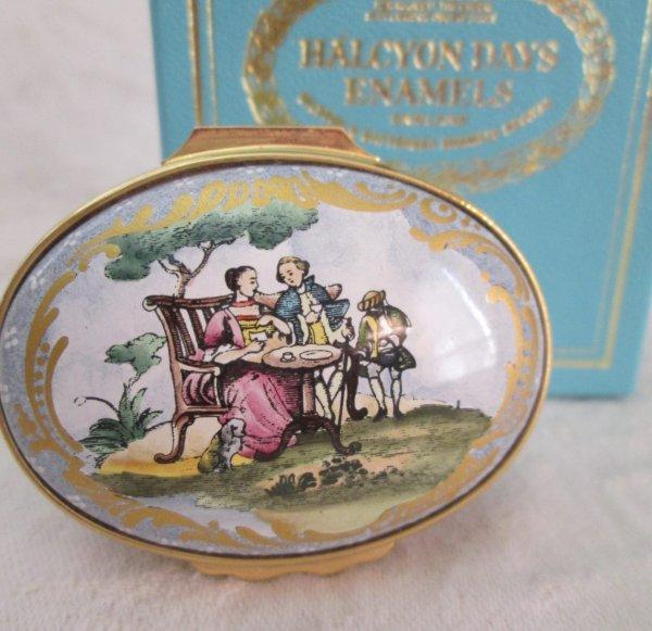 Halycon Days Tea Party