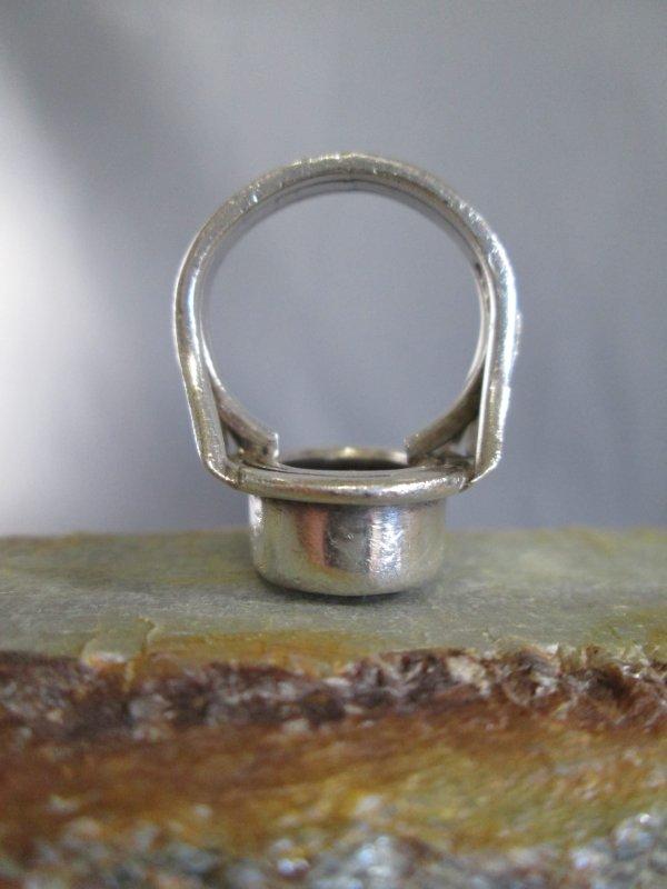 Smokey Topaz Signet Ring