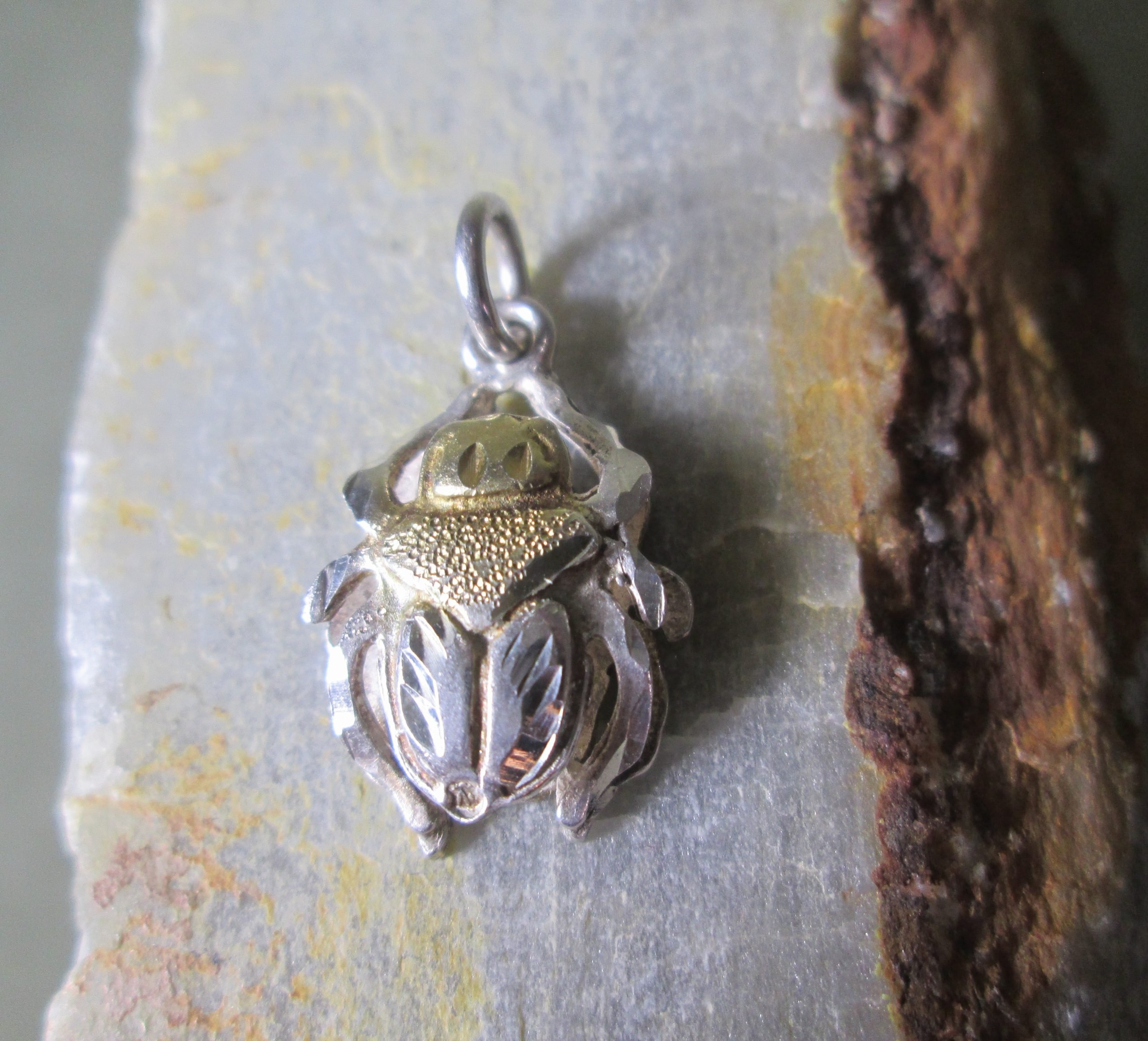 Sterling Silver Scarab