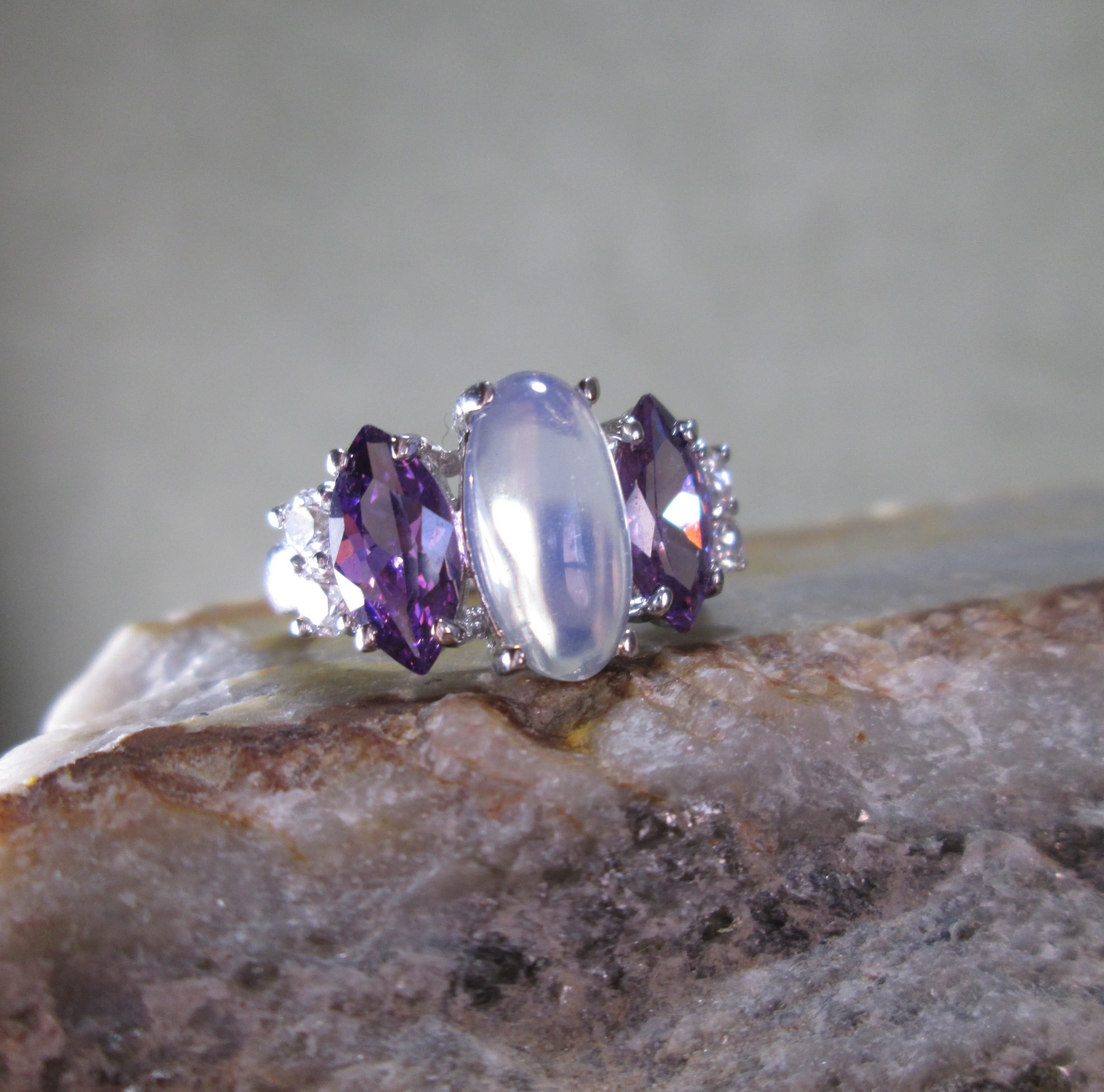 Opal and Amethyst