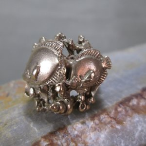 Bronze Two Fish Ring