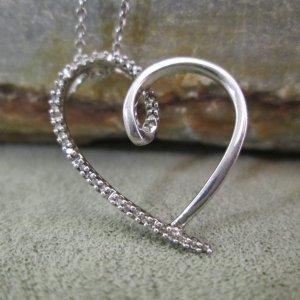Sparkling Heart Pendant