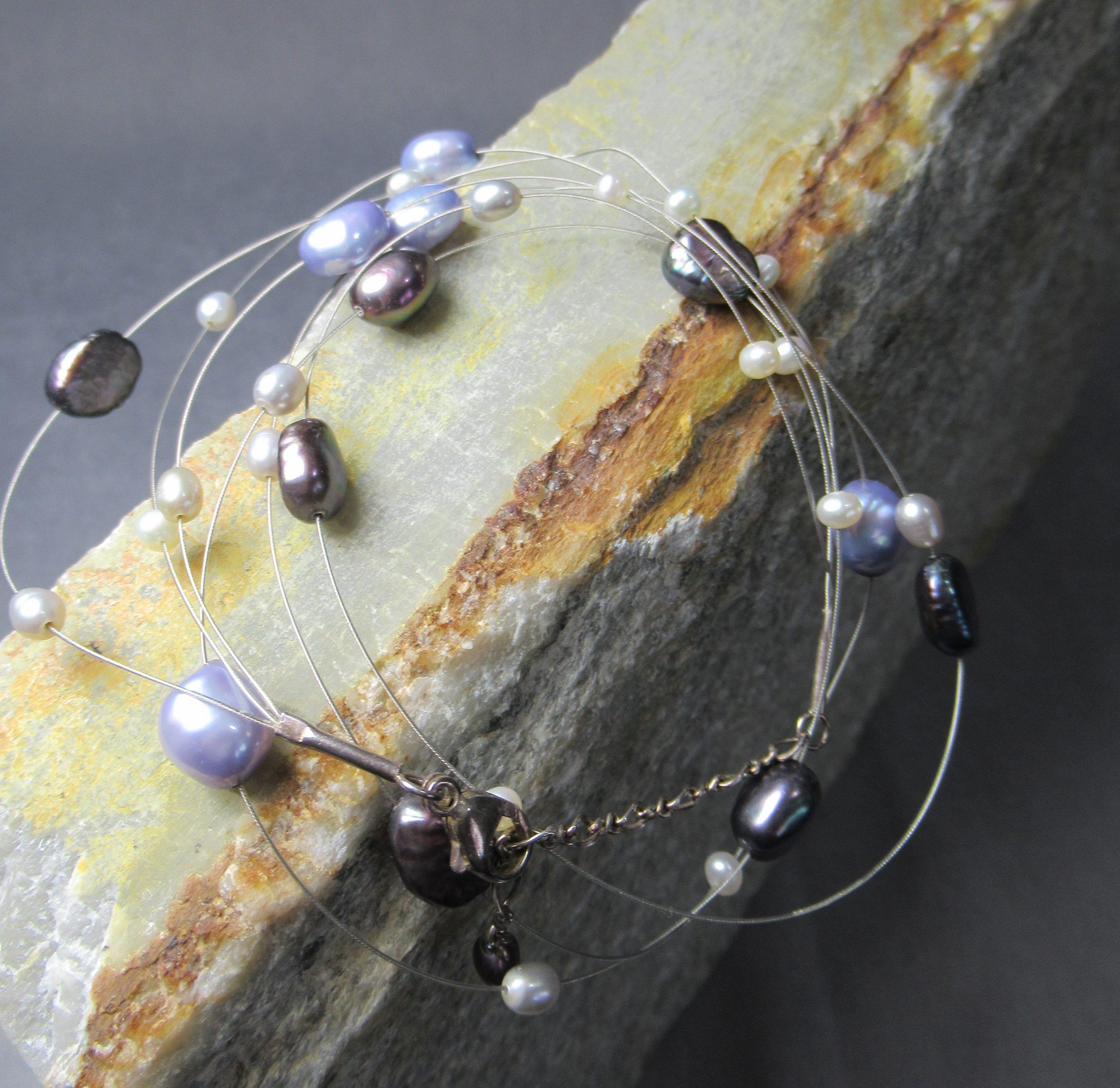 Galaxy Baroque Pearl Necklace