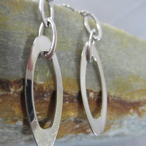 Modernist Chain Earrings