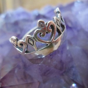 Crown and Scepter Ring