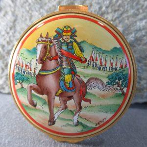 Kingsley Enamel Samurai Box
