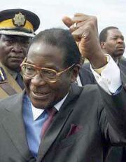 Mugabe celebrates his triumph over the economy