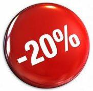 6 Month Birthday Offer - 20% Discount