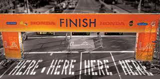 Marathon Time Finish Line