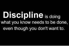 Discipline - The Hard Truth About Weight