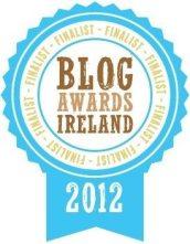 Blog Ireland Awards Finalist for Best Blog of an SME