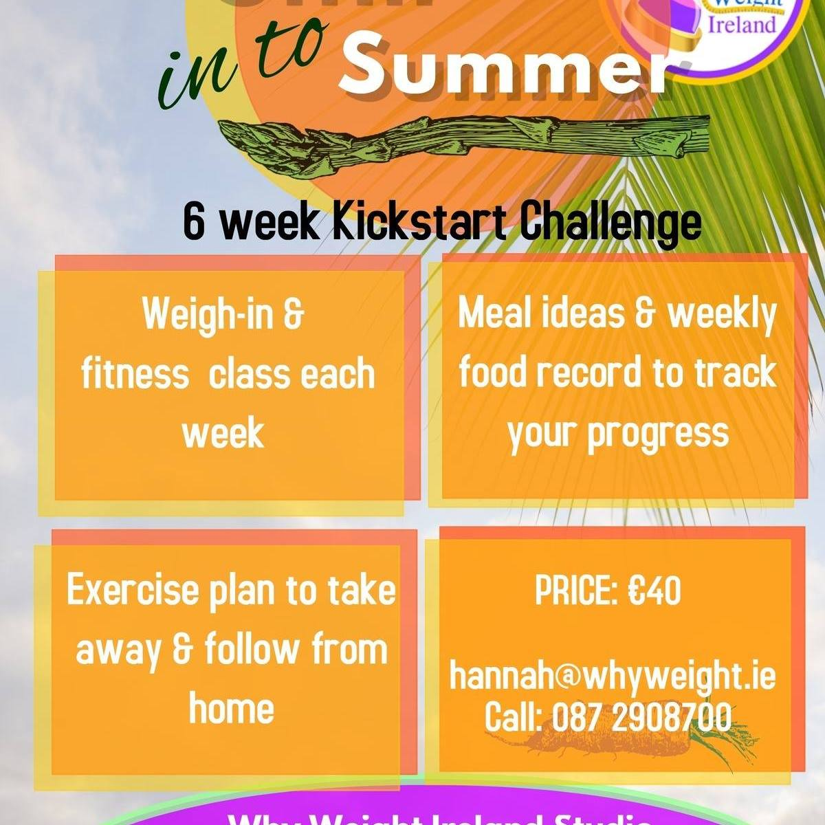 Why Weight Ireland 6 Week Challenge