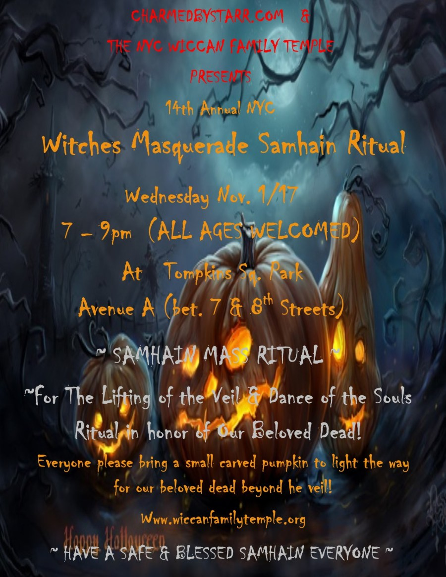 samhain ritual in tompkins