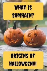 samhain halloween history