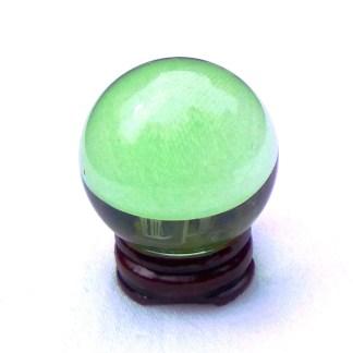 Small Light Green Crystal Ball