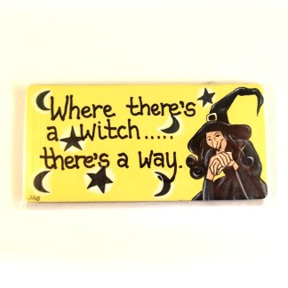 Witches Way Magnet