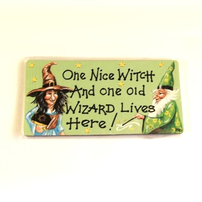 Witch and Wizard Magnet