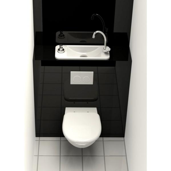 WC Suspendu Geberit Avec Lave Main Compact Intgr WiCi