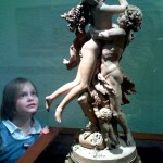 Alex at the museum