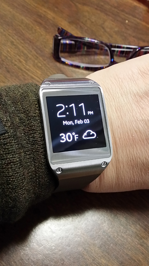 Review of Samsung Galaxy Gear Smartwatch
