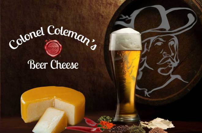 Colonel Coleman's Kentucky Beer Cheese - Kentucky Proud!