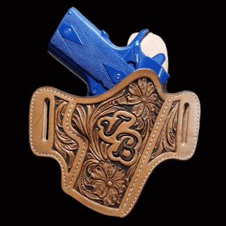 Floral Hand Tooled Holster
