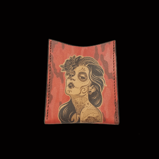 Day Of The Dead Girl Card Wallet
