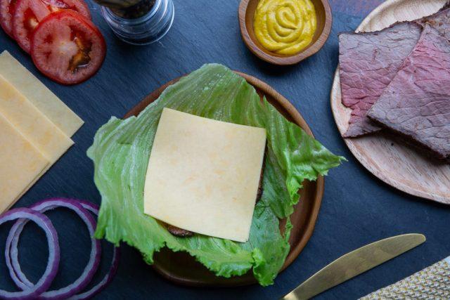 Keto Sandwich Wraps