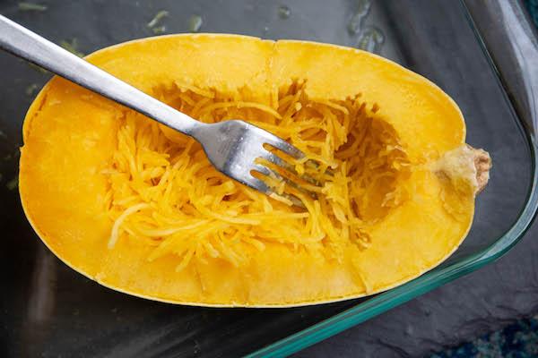 cajun chicken spaghetti squash