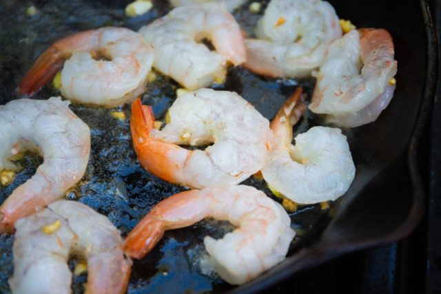 Saturday Garlic Shrimp