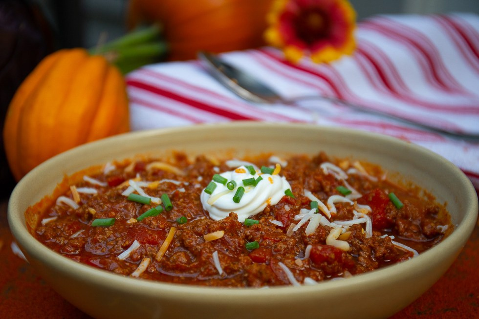 pumpkin keto chili
