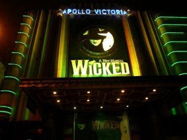 West End production of Wicked: The Untold Story of the Witches of Oz