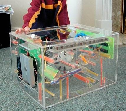 The Perspex wonder that is ORAC