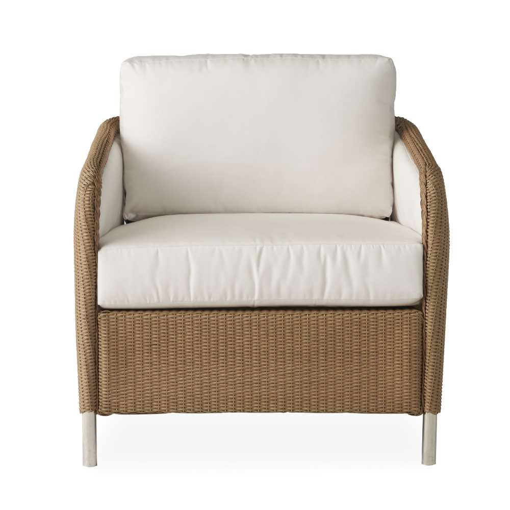 visions outdoor wicker patio swivel lounge chair