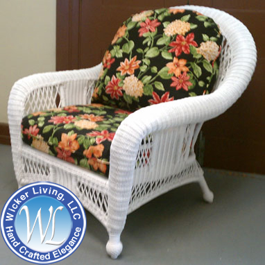 replacement cushions deep seating outdoor wicker chair