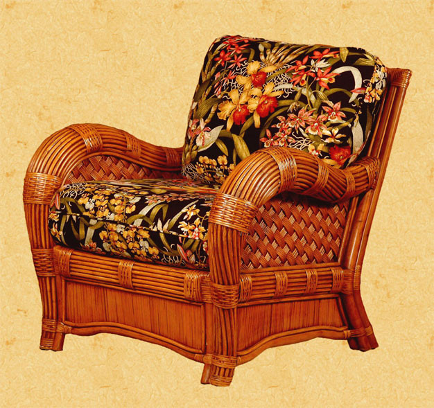 Jamaica Natural Rattan Lounge Chair