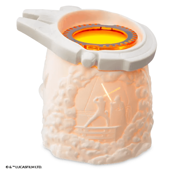 Millennium Falcon™ – Scentsy Warmer - Luke Fights Darth Vader
