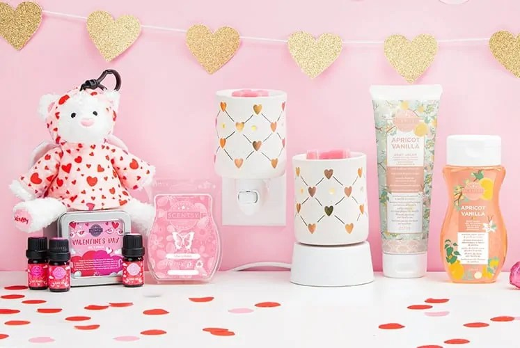 2020 Scentsy Valentines Gift Collection