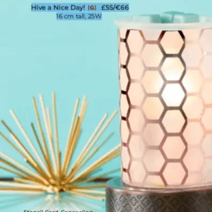 Hive a Nice Day Scentsy Wax Warmer