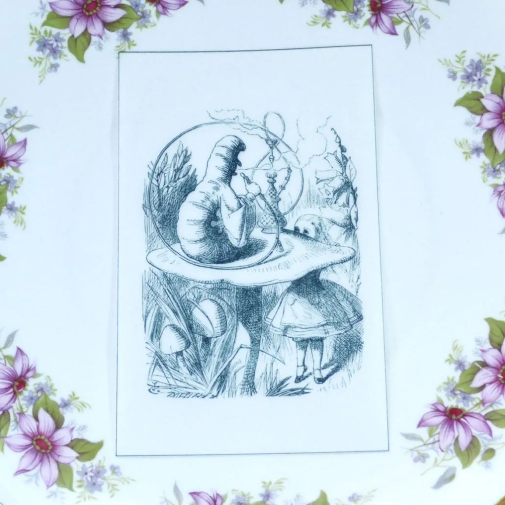 Wickstead's-Eat-Me-Edible-Black-&-White-Alice-in-Wonderland-Illustrations-Caterpillar